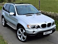 STUNNING 4X4! (2002) BMW X5 3.0 SPORT AUTO - 22 INCH ALLOY WHEES , FULL SERVICE HISTORY - MUST SEE