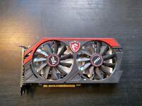 MSI NVIDIA GeForce GTX 750 Ti (2048MB) Graphics Card GOOD CONDITION