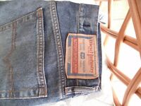 Mens DIESEL faded jeans