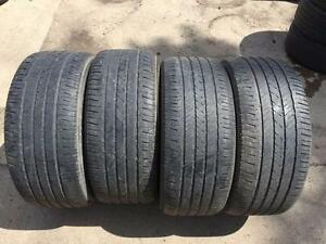 4 Bridgestone Dueler H/L400 - 255/50/19 - 50% - $80 For All 4