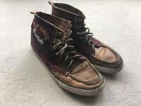 Size 8 Replay Leather Shoes / Boots