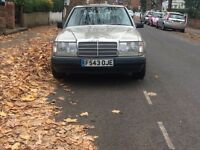 1989 Mercedes W124 200E, LHD, New tyres, Left Hand Drive