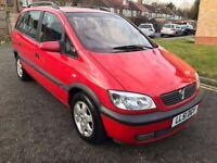 2002 Vauxhall Zafira 1.8 i 16v Elegance 5dr Automatic @07445775115