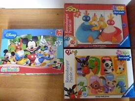 Jigsaw puzzles for toddlers.