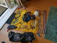 Assorted Climbing equipment