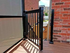 Aluminum Glass Railings • Supply & Install • Gates