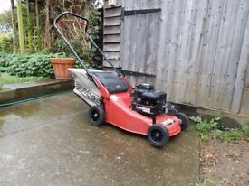 """Efco 16"""" petrol lawnmower."""