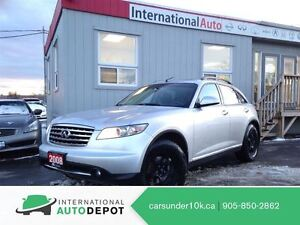 2008 Infiniti FX35 BACK-UP CAM / 2 SETS OF TIRES / LEATHER