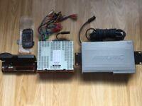 Alpine 6 disc remote CD player and radio