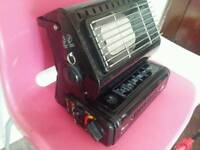 Camping fire heater