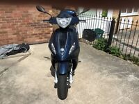 2016 Piaggio Scooter 125cc Excellent Condition