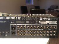 Behringer Mixing Sound Desk - Xenyx 2442-fx