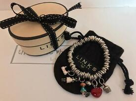 Links Of London Sweetie Bracelet With 5 Charms