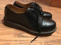 Black Doc Martens size 6 - nearly brand new