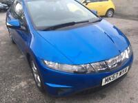 2007 57 Honda civic 1.8 se 5 door.( 63000 MILES)