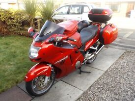 Honda Super Blackbird CBR1100xx 2005 swap/px. full touring kit