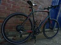 Specialized Sirrus comp carbon 2016 hybrid bike