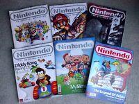 Vintage Nintendo magazines Official 2004, 2005, 2006, 2007 Christmas