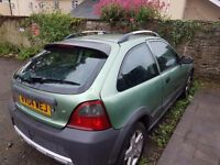 Rover Streetwise 1.4 litre. Mot until september. No tax. In very good condition.