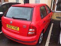 Skoda fabia 1.4 petrol manual new mot cheap car