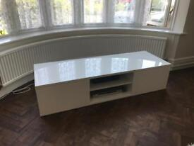 Dwell Large White Gloss TV cabinet bought for £500