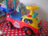 Mickey Mouse Clubhouse Ride On Car