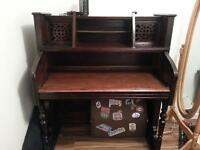 Desk - repurposed from an old organ
