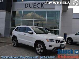 2015 Jeep Grand Cherokee Limited  20 Wheels, Power Sunroof