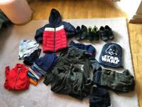Large bundle boys clothes and shoes 9-10 years £20
