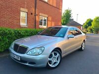 2004 04 REG Mercedes-Benz S Class 3.2 S320 CDI 4dr