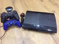 PS3 Super Slim 500GB loads of games