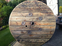 Garden Table Cable Reel