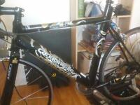 Cannondale Ironman 800 frameset and other parts