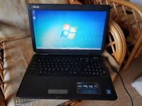 asus k5oc windows 7 3g memory 250g hard drive webcam wifi dvd drive charger