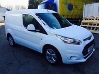 Ford transit connect van 64 1.6 tdci top of range 3 seater service history looksand drives mint