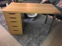 Ikea Desk with Draws (Fantastic Condition)