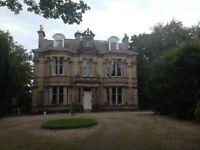 Edinburgh Festival Rental 2 Bedroom Flat in Converted Mansion 30 Minutes Walk to Princes Street