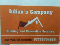 Building and renovation services