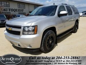 2011 Suburban LT - 8 PASS, LEATHER, PWR SUNROOF & MORE!