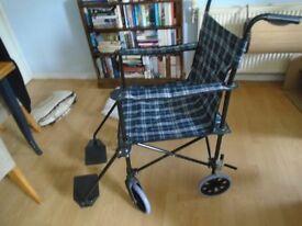Lightweight folding wheelchaie