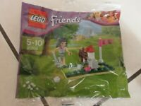 BRAND-NEW LEGO FRIENDS: Emma's Mini Golf Polybag Set 30203 - unopened