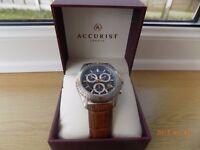 mens accurist wrist watch.
