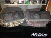 Car/van speakers.