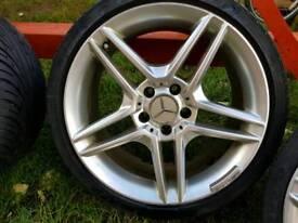 Mercedes alloy Wheels amg 18