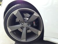 Audi RS4 Alloy Wheel and Pirelli P Zero Tyre