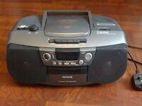 AIWA portable cassette / radio/ CD player