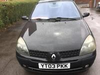 Renault Clio 1.5 dci £30 tax a year.**1 owner **