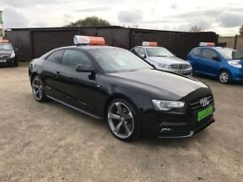 2014 Audi A5 2.0 TDI Black Edition Coupe **FINANCE AND WARRANTY** (a4,c220,320d)