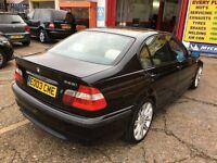 2003 BMW 325I 2.5 SPORT AUTOMATIC CREAM LEATHERS 135 000 MILES