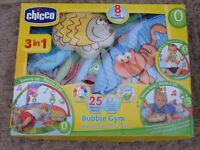 Chicco 3 in 1 Bubble Gym with MP3 Connection
